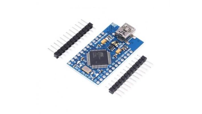 Microcontrôleur Arduino Compatible Pro Micro ATmega32U4 avec port USB natif